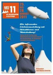 Die informative Erlebnisausstellung mit Attraktionen und Unterhaltung!