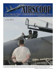 May 2011 - 104th Fighter Wing, Massachusetts Air National Guard