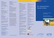 Programm der Tagung als pdf zum Download - Kirchlicher Dienst in ...