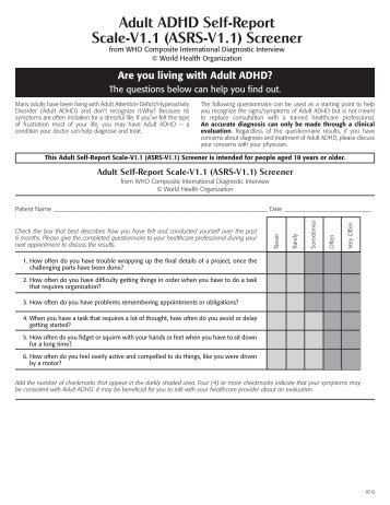 the adhd rating scale iv essay Read adhd essays and research papers essay instructions: adhd or brain research in the area of education of weiss functional impairment rating scale-sef.