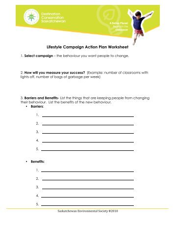Action Plan Worksheet  National Academy Foundation