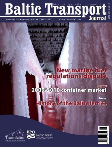New marine fuel regulations dispute - Baltic Press
