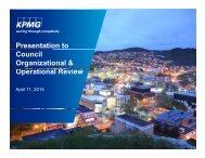 Corner Brook Org Review Project Charter media release