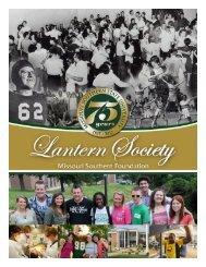 Lantern Society Contributors - Missouri Southern State University