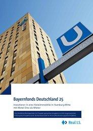 Bayernfonds Deutschland 25 - Real IS