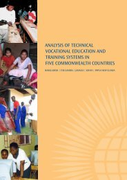 AnAlysis of TechnicAl VocATionAl educATion And TrAining sysTems ...