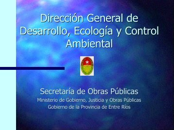 Dirección General de Desarrollo, Ecología y Control Ambiental
