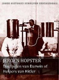 Jeroen Hopster (pdf) - Jonge Historici Schrijven Geschiedenis