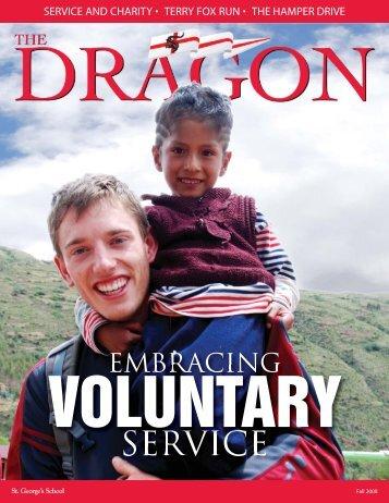 Dragon_Fall_2008:The Dragon - Fall 2008 - St. George's School