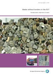 Waste without borders in the EU? - Institute for Environmental Security