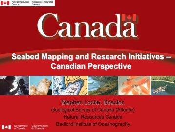 Canada: Mr Stephen Locke - Marine Institute