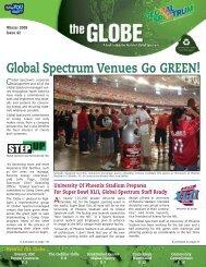 Global Spectrum Venues Go GREEN!