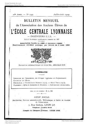 Revue Technica, année 1929, numéro 249 - Histoire de l'École ...