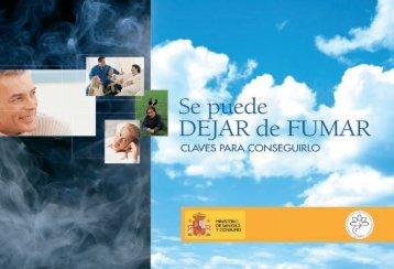 Imprimir Maqueta fumar - Ministerio de Sanidad y Política Social