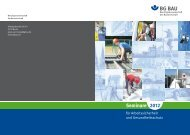 Seminare 2012 - BG Bau