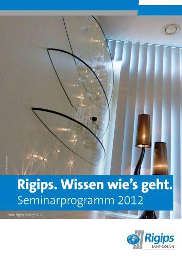 Rigips. Wissen wie's geht. - Sprit.org