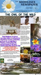 Newsletter dated April 2013 - Middlesex Newspaper