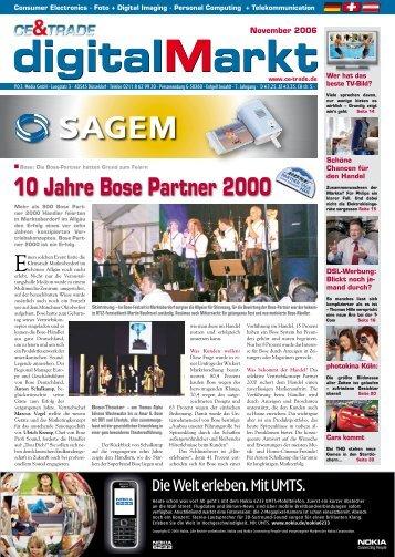 CE&TRADE digitalmarkt 11/2006