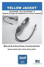 Manual de instrucciones y funcionamiento - Yellow Jacket