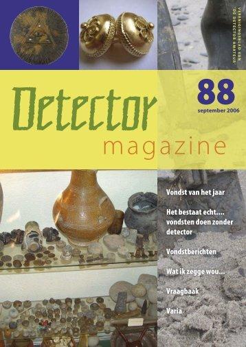 Detector Magazine 88 - De Detector Amateur