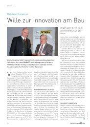 Wille zur Innovation am Bau - Sprit.org