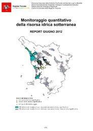 Monitoraggio quantitativo della risorsa idrica sotterranea - SIR