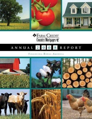 2008 Annual Report - Farm Credit of the Virginias