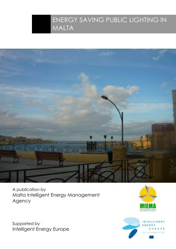 ENERGY SAVING PUBLIC LIGHTING IN MALTA - MIEMA