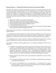 RESUMEN EJECUTIVO - Viceministerio de Coca y Desarrollo Integral
