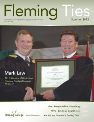 Mark Law - Fleming College