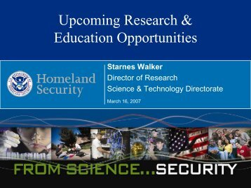 Upcoming Research & Education Opportunities - Oak Ridge Institute ...