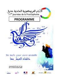 PROGRAMME - Lycée Lyautey