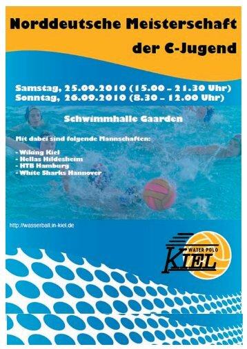 ProgrammheftKiel.pdf - Norddeutscher Schwimmverband