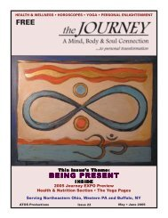 May-June 2005 - The Journey Magazine