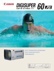 Catalog (PDF file) Download 1.921KB - Canon