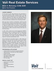 Brian A. Mulvaney, CCIM, SIOR - Voit Real Estate Services