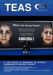 21 ans depuis le massacre de khojaly, commémoré à travers ... - TEAS