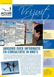 AKKOORD OVER INFORMATIE EN CONSULTATIE IN KMO'S - Aclvb
