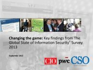 Key findings from The Global State of Information Security ... - CSO