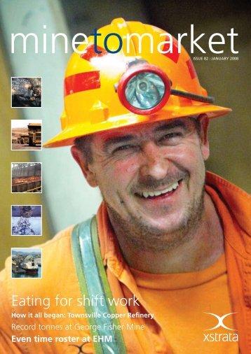 Mine to Market - January 2008 - Ernest Henry Mining