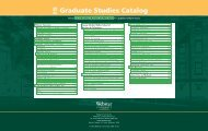 Graduate Studies Catalog - Webster University