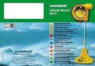 LIfEjACkET INfLATOR MA1 EC - CM Hammar