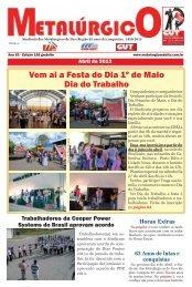 Vem ai a Festa do Dia 1º de Maio Dia do Trabalho - CNM/CUT
