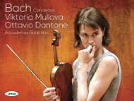 Viktoria Mullova - Onyx Classics