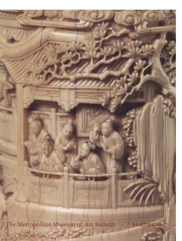 Chinese Decorative Arts: The Metropolitan Museum of Art Bulletin, v ...
