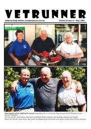 May, 2003 - ACT Veterans Athletics Club