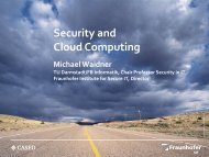 Security and Cloud Computing - Security in Information Technology