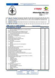 Aftekenlijst MBL-Z1A MBL-Z1A (≈ CWO-kbIII) - ScoutNet Nederland