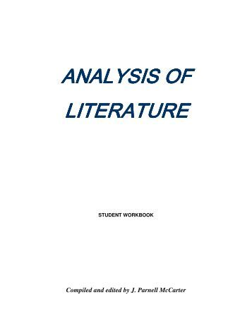 an analysis of modern literature In order to keep clear the distinction between postmodernity and postmodernism, each set of after which the press and some literature is in modernism, self.