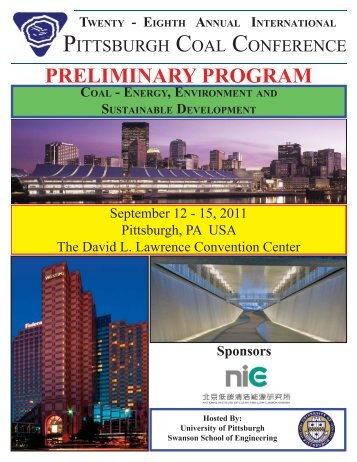 2011 Preliminary Program.indd - Swanson School of Engineering